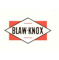 Blaw-knox-parts