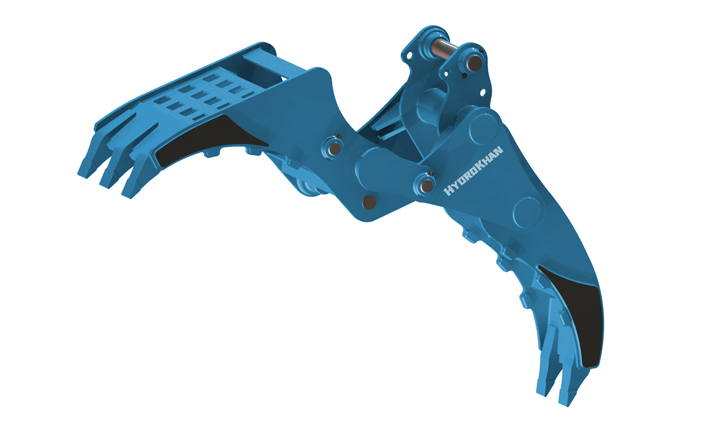 Multi Grapple - must be installed to Quick-Coupler